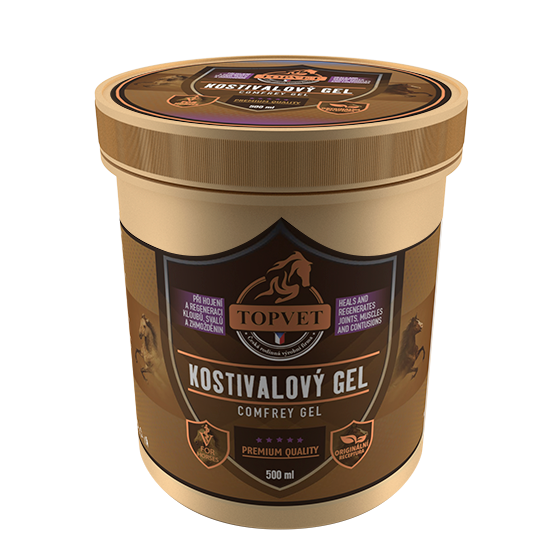Kostivalový gel 500 ml TOPVET