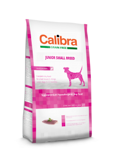 Calibra Dog Junior Small Breed / Duck & Potato