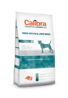Calibra Dog Senior Medium & Large Breed / Chicken & Rice