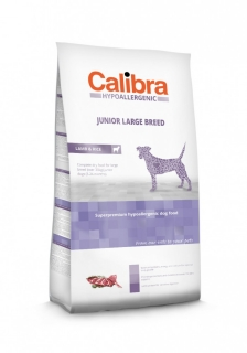 Calibra Dog Junior Large Breed / Lamb & Rice