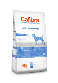 Calibra Dog Adult Medium Breed / Chicken & Rice